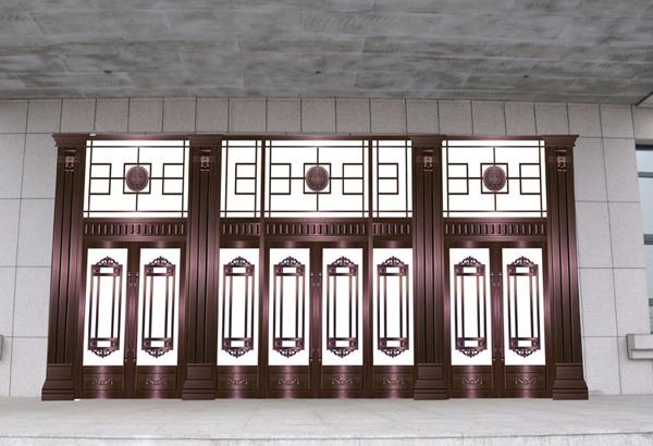武汉别墅铜门